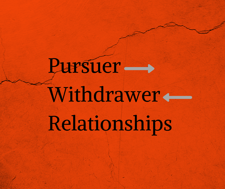 Pursuer-Withdrawer Relationships
